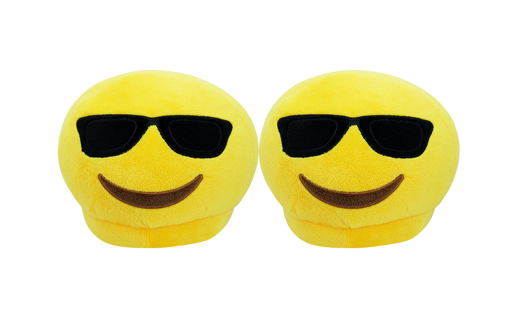 Emoji Slippers - Sunglasses