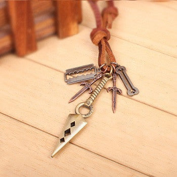 Kunai Weapon Necklace