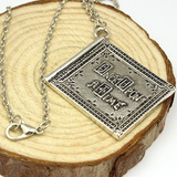 Henry's Book Necklace