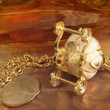 Cinderella Carriage Necklace