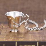 Belle's Chipped Cup Necklace