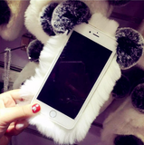 Furry Panda Phone Case
