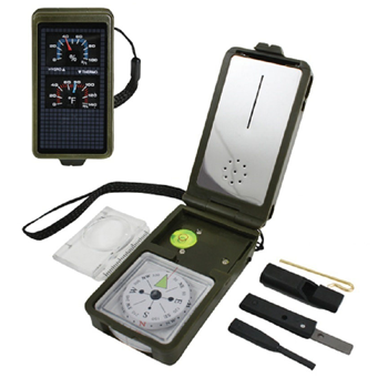 Multifunction 10 in 1 Military Survival Kit