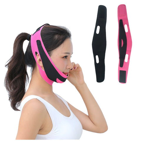 Anti Double Chin Anti Wrinkle Facial Slimming Strap to Form V-Shape