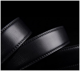 Powerful Platinum Genuine Leather Belt