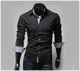 Sleek European Dress Shirt
