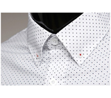 Diamond Patterned Casual Dress Shirt