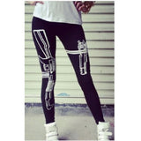 Gun Design Leggings