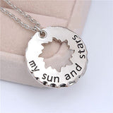 Star Crossed Lovers Necklace