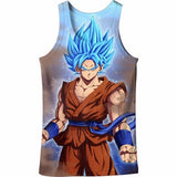 Custom Art Dragon Ball Tanks