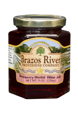 Blackberry Merlot Wine Jelly