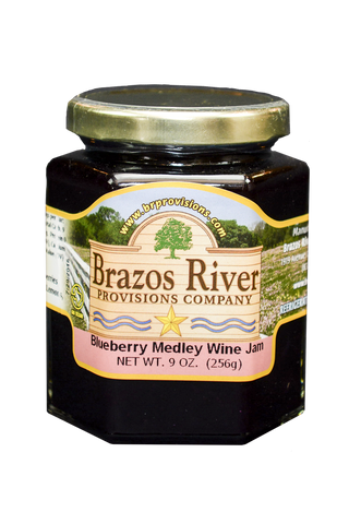 Blueberry Medley Wine Jam