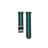 Blue and Green Apple Watch Strap