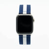Blue White NATO Strap Apple Watch