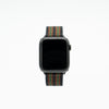 Black Red and Green Apple Watch Band