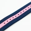 Blue Pink Nylon Watch Band