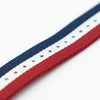 Red White Blue Nylon Apple Strap