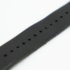 Black Leather Watch Band