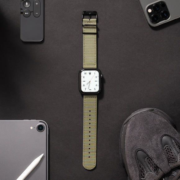 Green NATO Apple Watch Band