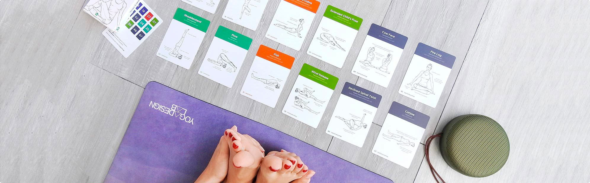 Yoga Cards by WorkoutLabs