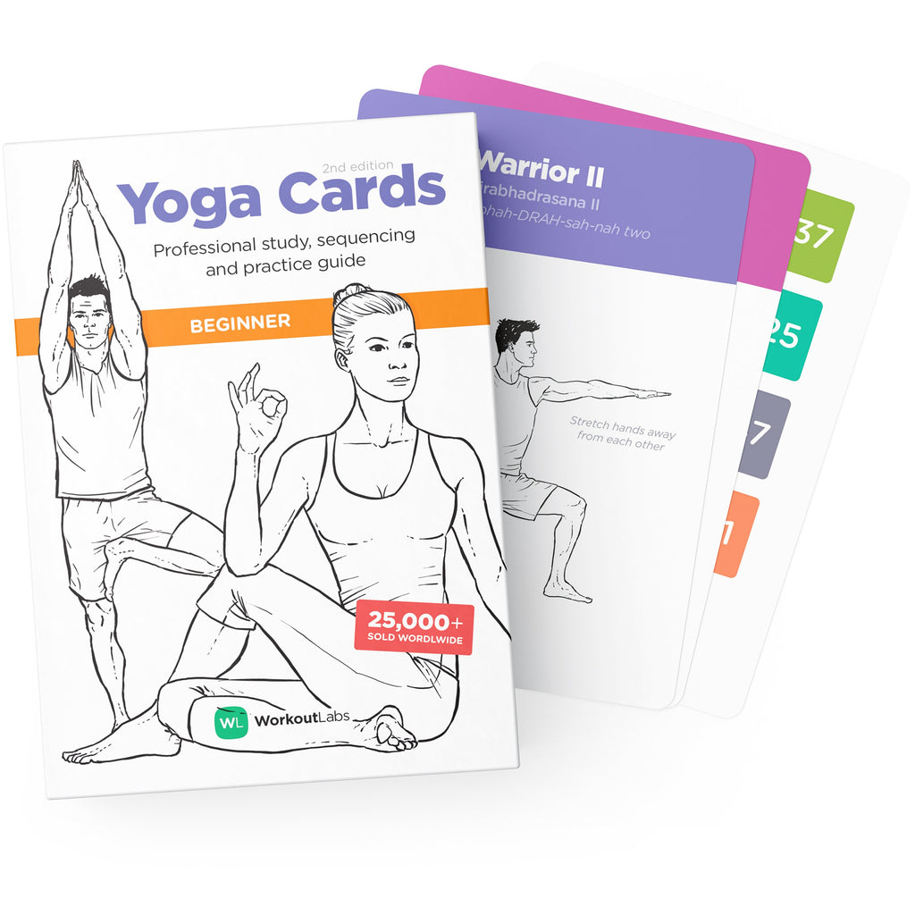 Yoga Cards – Beginner by WorkoutLabs