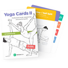 Yoga Cards II by WorkoutLabs – Intermediate
