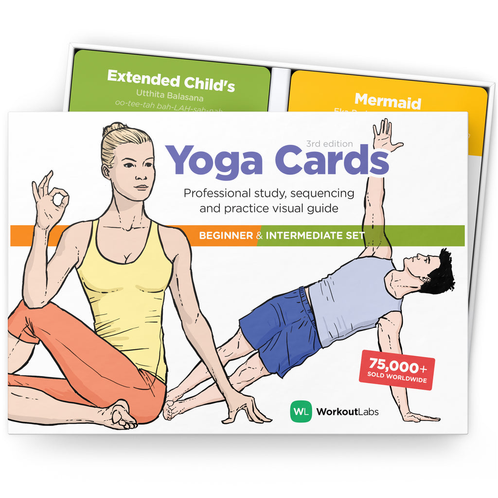 WorkoutLabs Yoga Cards Set Bundle