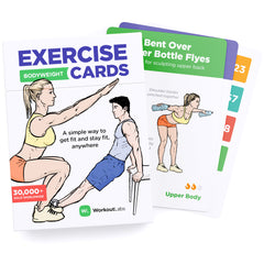 WorkoutLabs Exercise Cards for Bodyweight Workouts
