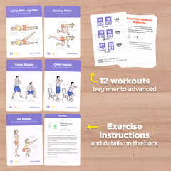 Easy to follow bodyweight workouts