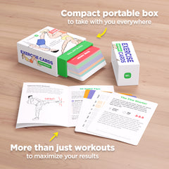 WorkoutLabs Exercise Cards to lose weight and get toned