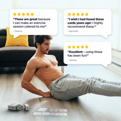 Exercise Cards: Bodyweight – Simple No-Equipment Workouts