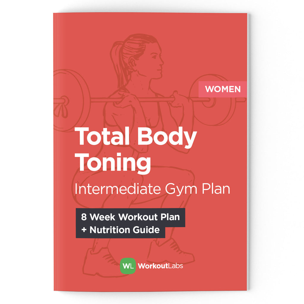 Total Body Toning: Intermediate Gym Plan & Nutrition Guide for Women
