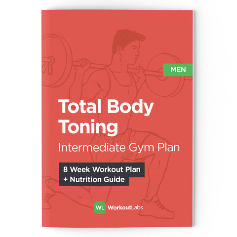 Total Body Toning: Intermediate Gym Plan & Nutrition Guide (PDF eBook)