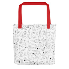Yoga Print Tote Bag [Limited Edition]