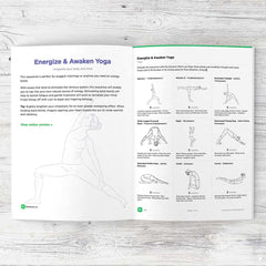 Visual yoga sequence