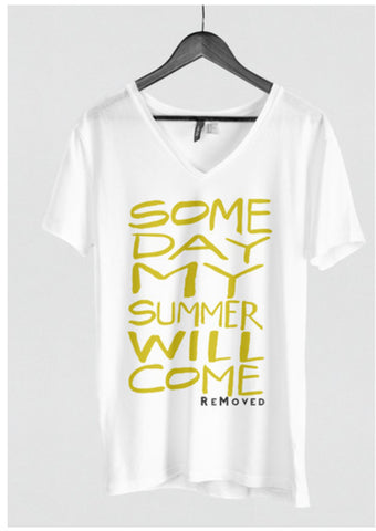 "V-neck ""Someday"""