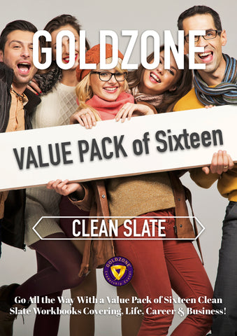 GOLDZONE Clean Slate Value Pack of Sixteen
