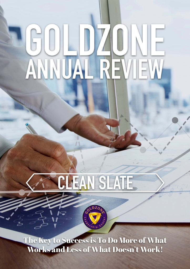 GOLDZONE Annual Review Clean Slate
