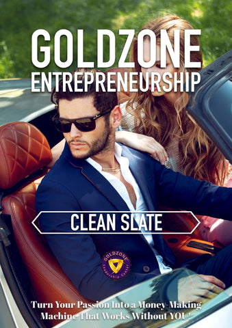 GOLDZONE Entrepreneurship Clean Slate