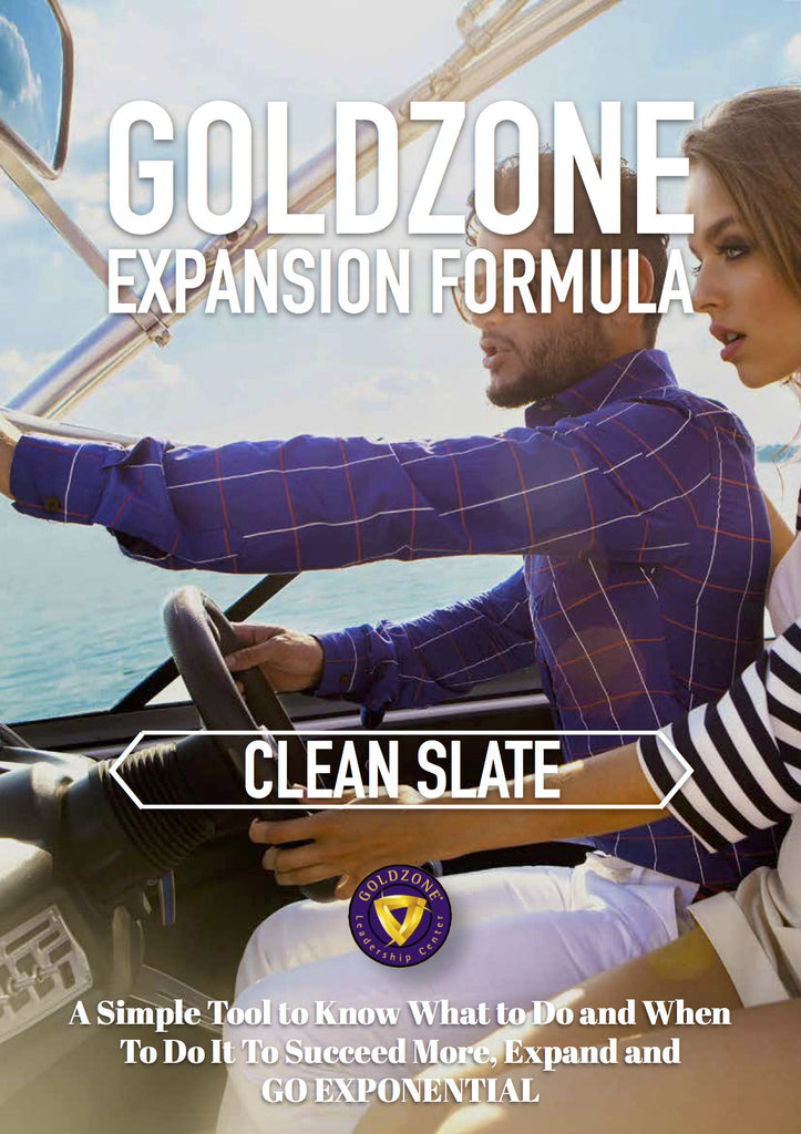 GOLDZONE Expansion Formula Clean Slate