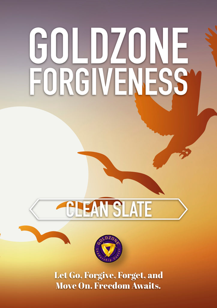GOLDZONE Forgiveness Clean Slate