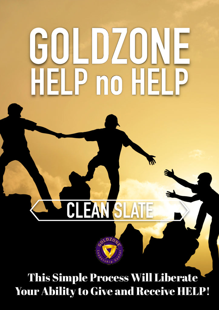 GOLDZONE Help No Help Clean Slate