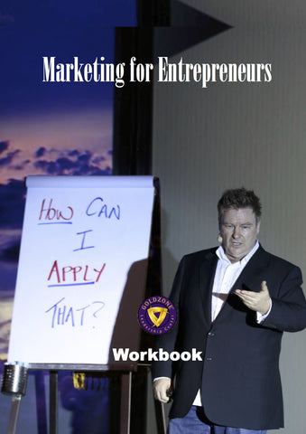 Marketing for Entrepreneurs Workbook