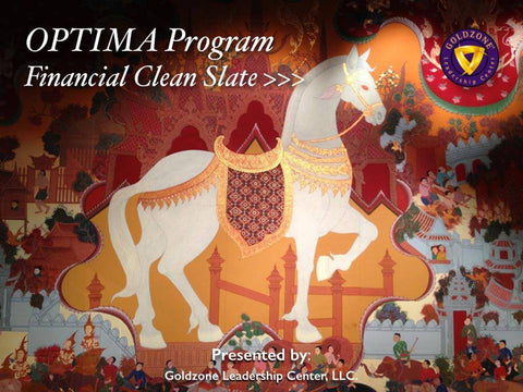 OPTIMA Program: Financial Clean Slate