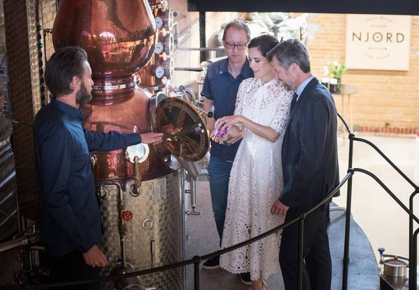 Visit from HRH Crown Prince Frederik and HRH Crown Princess Mary