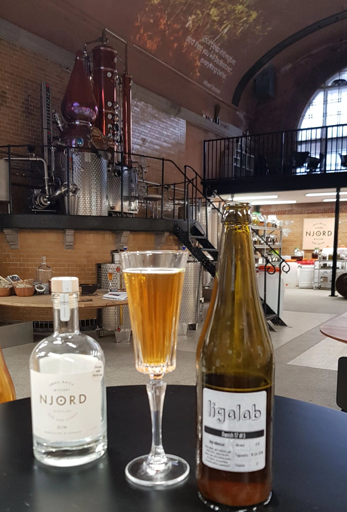 Njord LigaLab Tasting (special lab editions) - Saturday 14 August 2021