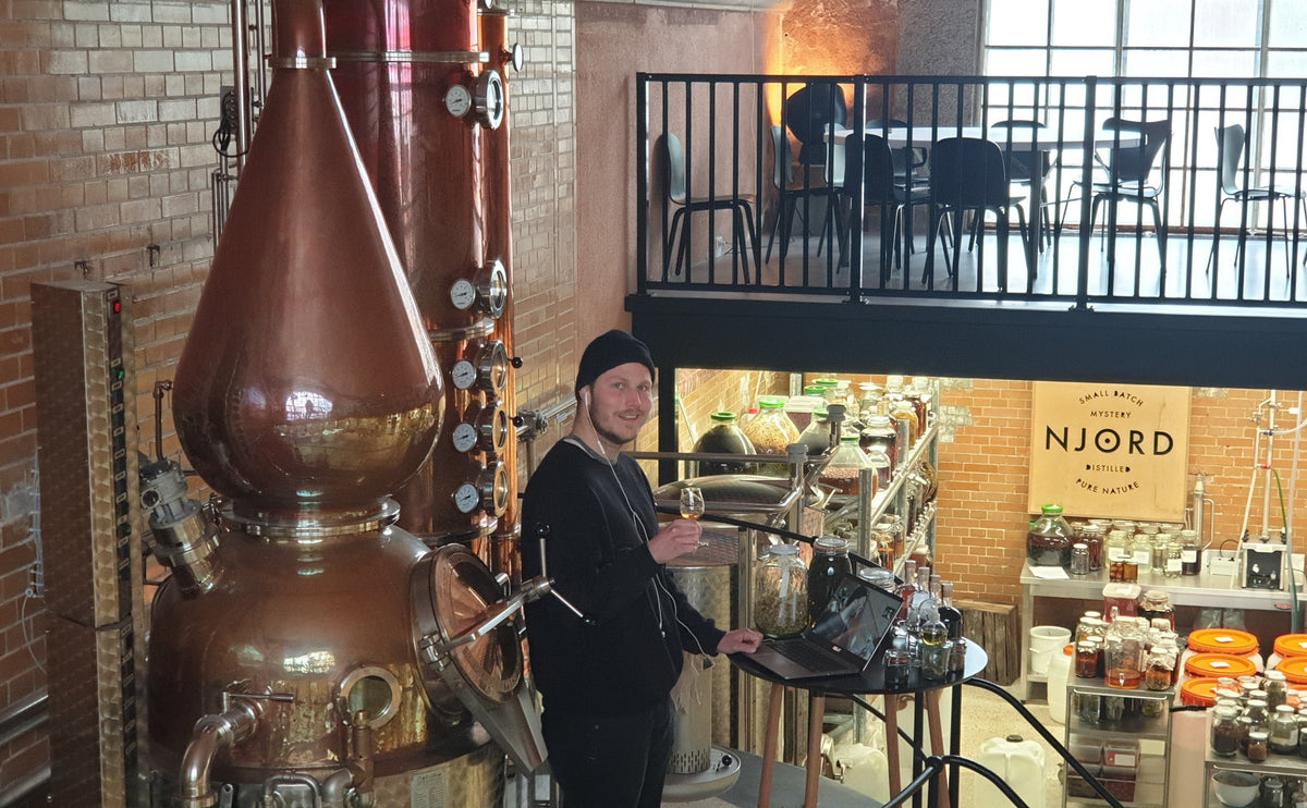 Probably Denmark's First Virtual and Interactive Gin Distillery Tour and Tasting – Live From Njord Distillery.  17 April - Starts 16.30 hrs.