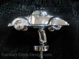 1930's Ford 2-door 5-window coupe triple chrome plated hood ornament