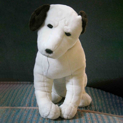 "Nipper Victor Edison dog 12"" plush RCA doll nos old stock phonograph"