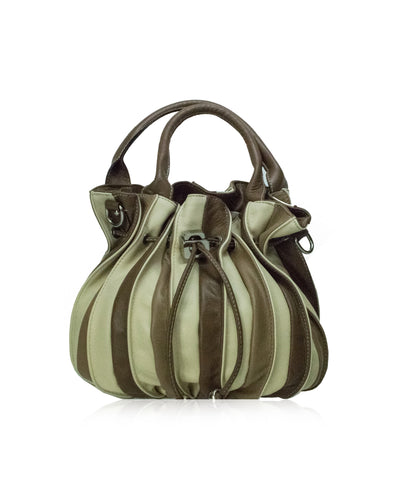 TOSCANA Beige Soft Leather Tote Bag